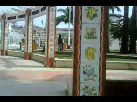 Bioko Island.Colonial part of Malabo, the capital of Equatorial Guinea