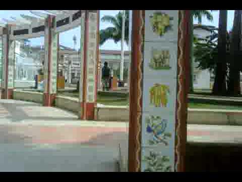 Bioko Island.Colonial part of Malabo, the capital of Equatorial Guinea