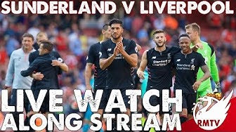 Sunderland v Liverpool | LIVE Watch Along Stream