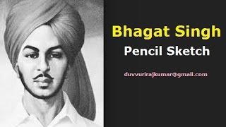 bhagat singh | how to draw bhagat singh sketch | freedom fighter | Maharaja bhagat singh