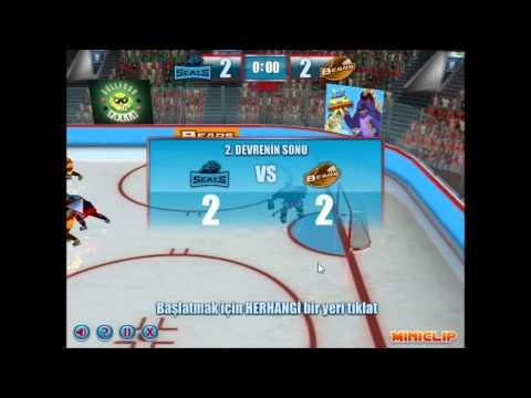 Buz Hokeyi Oyunu - YENİLDİK BE