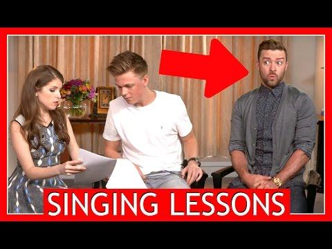 SINGING LESSONS w/ Justin Timberlake &...