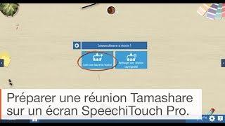 Tutoriel Tamashare : faire une réunion sur écran interactif