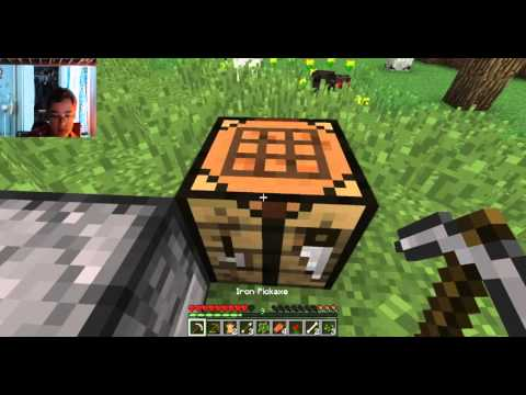 Diamonds in the first episode!!! MineCraft: Asteroid Mc 2 towny ep 1
