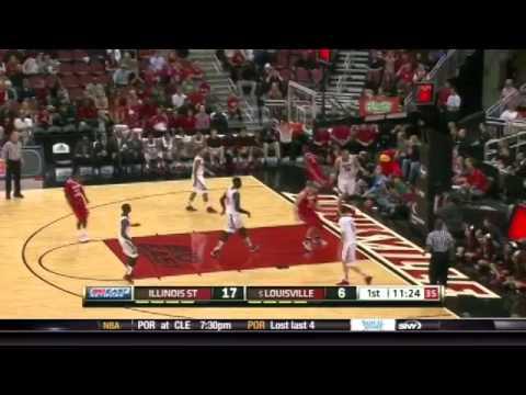 1st Half Illinois State Redbirds vs. Louisville Cardinals
