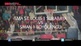 SMA ST LOUIS 1 SBY VS SMA BOYOLANGU TULUNGAGUNG - DBL East Java Series 2015
