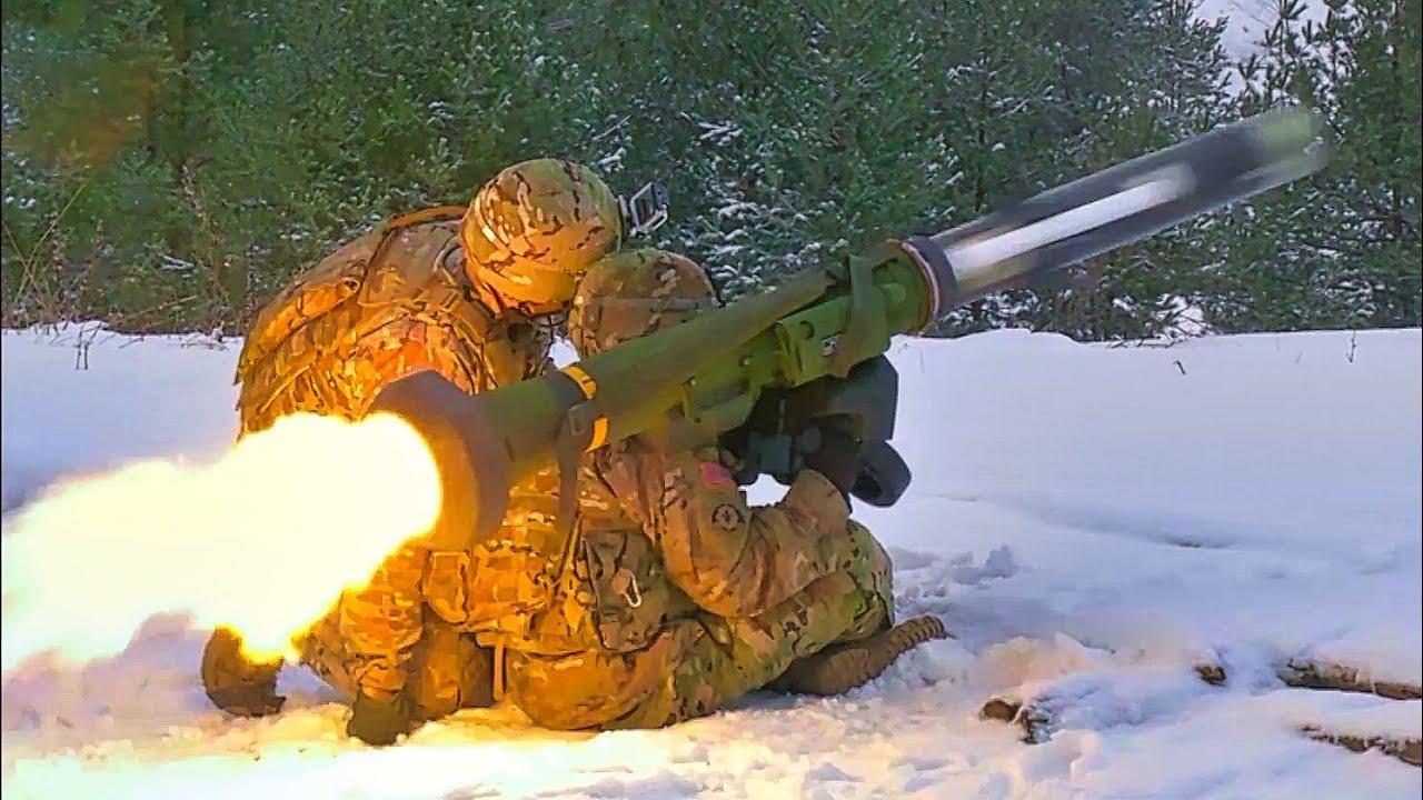 Javelin Missile Firing - YouTube