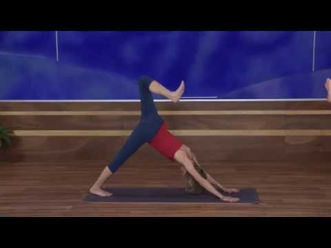 BeachTV Beginning Yoga #20 -Forward Folds, Seated Twists and Chandra Namaskar