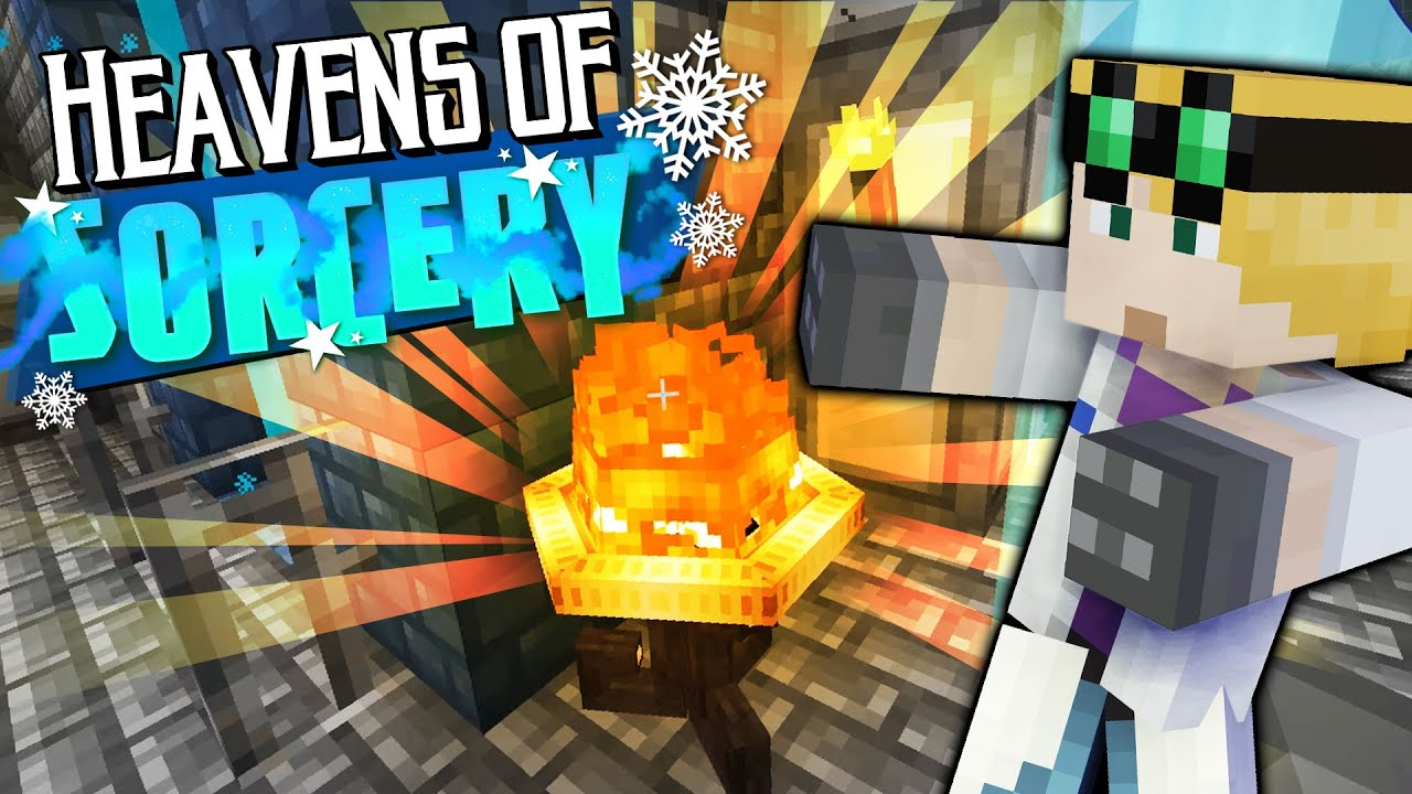 Brazier of Hoarding - MINECRAFT HEAVENS OF SORCERY #45