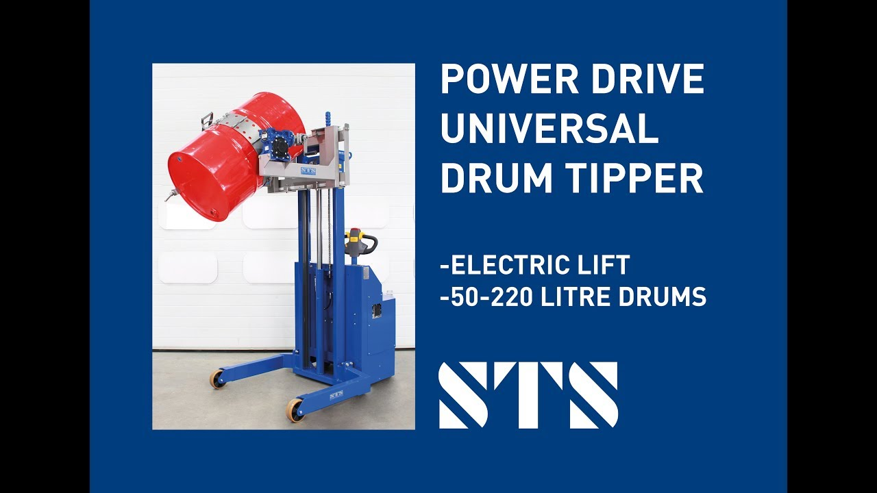 Power Drive Universal Drum Tipper (Model: STE05-DRU01)