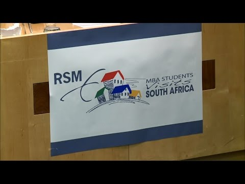 Executive MBA Study Tour to South Africa