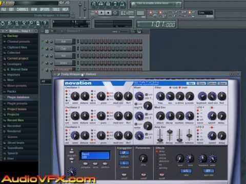Como Instalar Plugins VST no FL Studio (Novation V-Station ...