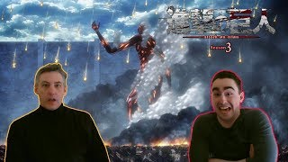 Law & Pops React to Attack on Titan 3x15 - 'Descent' or Bertholdt is Underrated!
