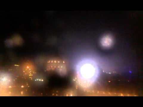 Heavy thunders over Christian Science Center - BOSTON STORM