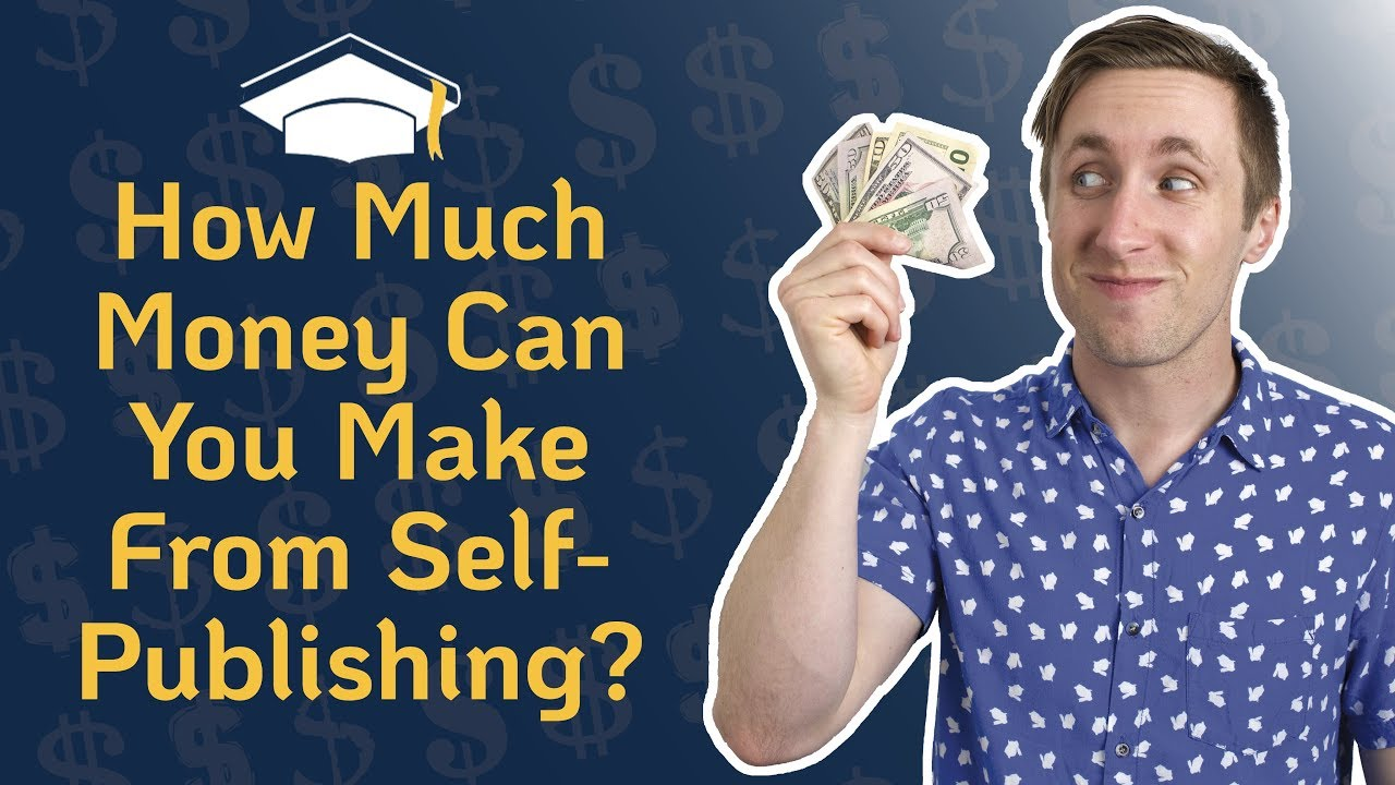 how much money do you make self publishing
