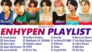 E N H Y P E N PLAYL ST 2021 UPDATED ALL SONGS 엔하이픈 노래 모음
