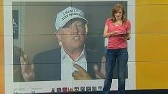 Die Steigerung von Frisur ist Mütze: Donald Trump blamiert sich hut-hoch