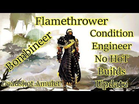 Guild Wars 2 - Condition Engineer no HoT Builds Update