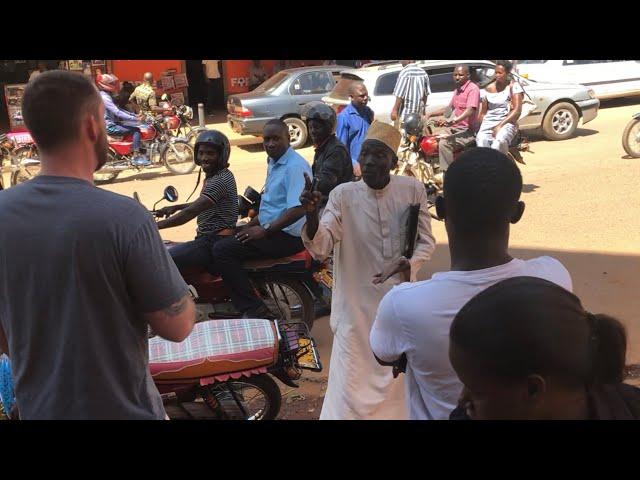 Muslim man gets angry at the gospel in Kampala