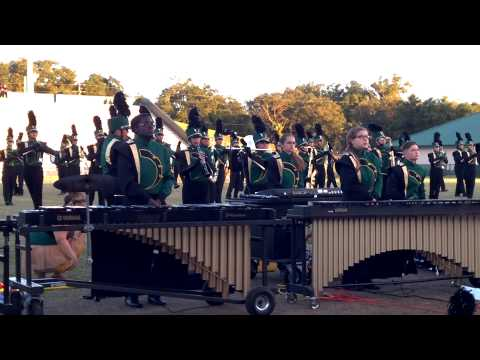 DHS Marching Bulldogs 2014 FBA MPA at Spec Martin Stadium