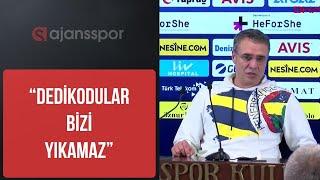 Ersun Yanal ve Emre Belözoğlu kavga ve istifa iddialarına cevap Fenerbahçe Beşiktaş Basın toplantısı