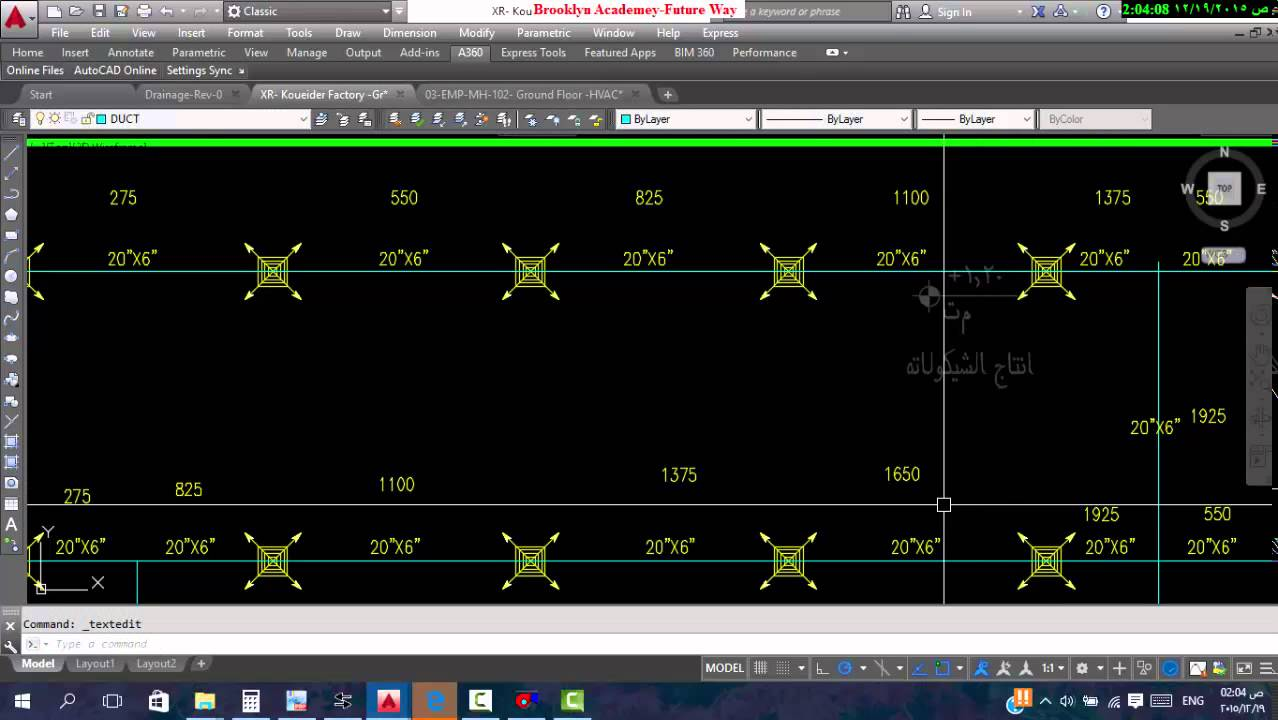 Hvac Sample Project 8 Duct Paths Draw And Distibute Youtube Drawing