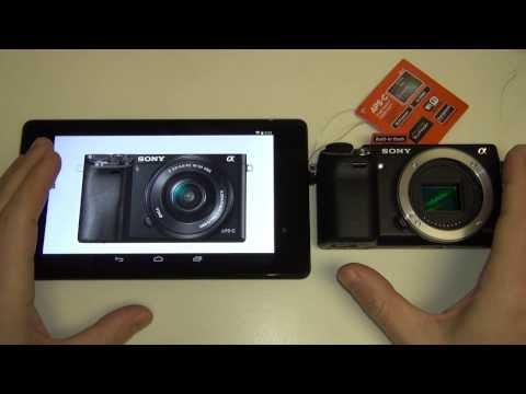Sony Alpha A6000 vs NEX-6
