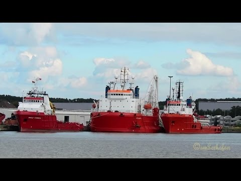 5 offshore support vessels ATALANTI VICTOR HENSEN MARKAB SHE
