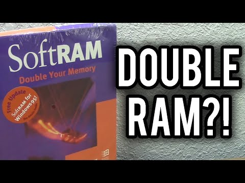 SoftRAM - The Story of the Incredible RAM Doubling Scam (A Retrospective)