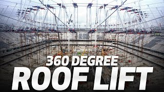 360° ROOF LIFT l SPURS NEW STADIUM 🏟