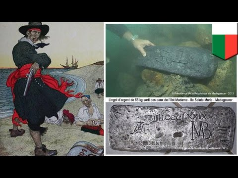 Captain Kidd's treasure found: divers find silver belonging to Pirate Captain Kidd - TomoNews