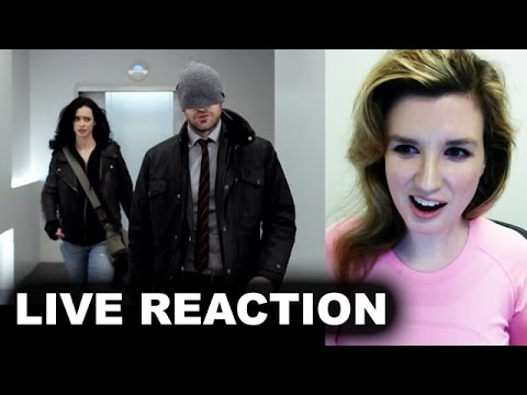 The Defenders Trailer REACTION