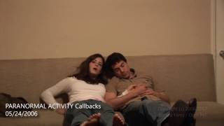 PARANORMAL ACTIVITY Katie & Micah Auditions - Entirely Improvised!