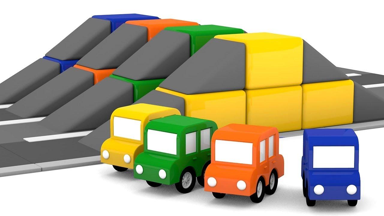 Dessin anim ducatif pour enfants de 4 voitures une - Dessin anime de voiture de course ...