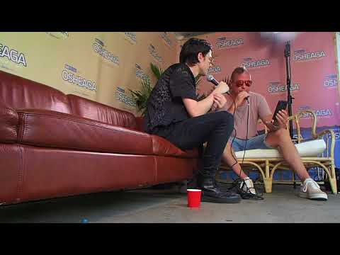 JAMES BAY chat with KENNYB live from OSHEAGA MONTREAL