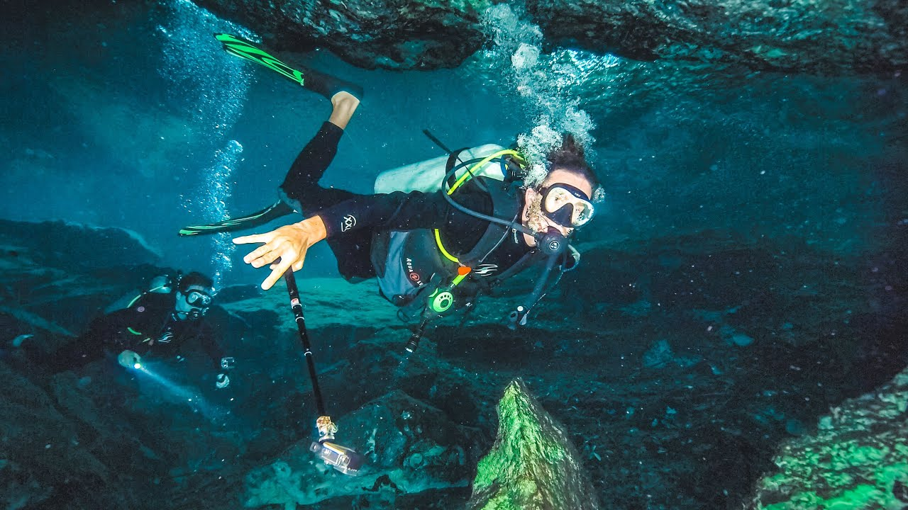 INCREDIBLE CAVE DIVING