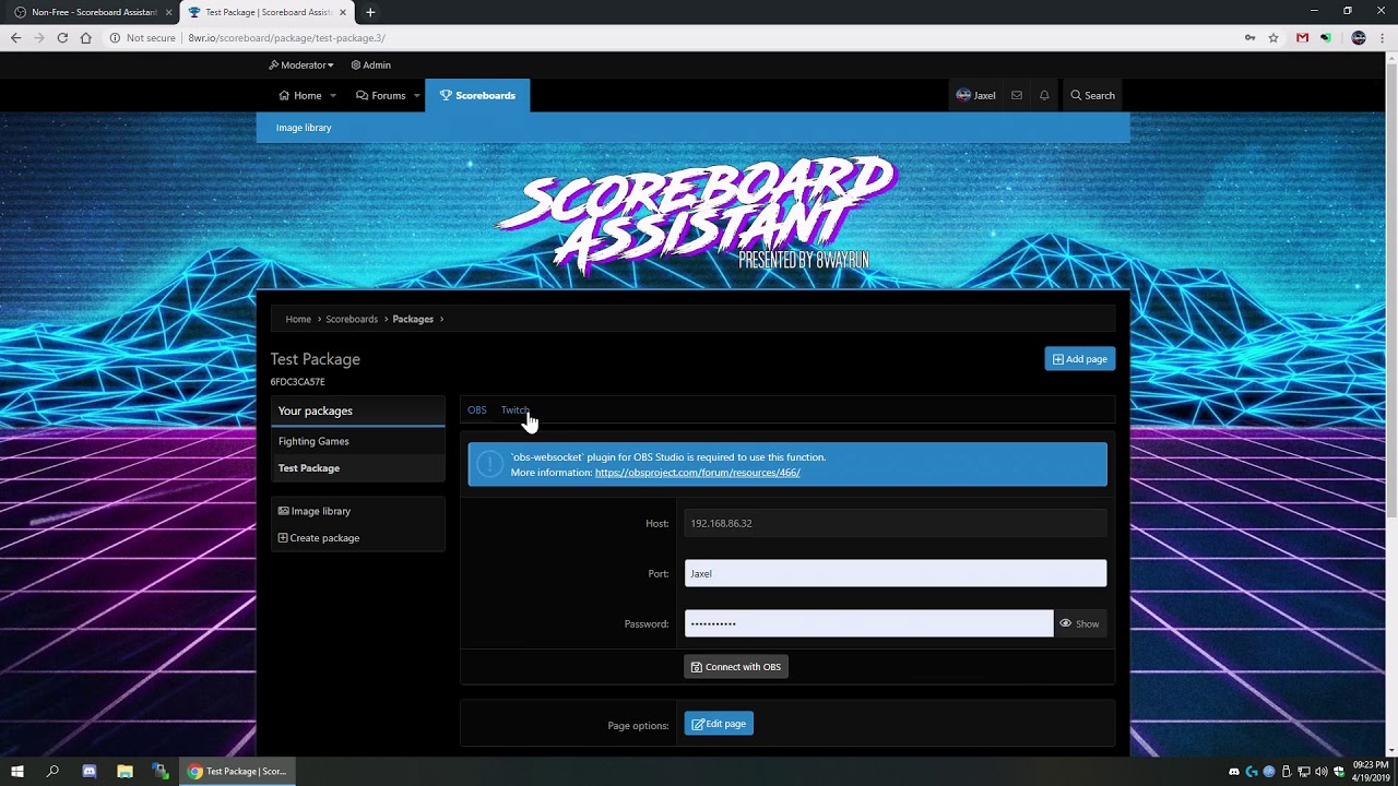 Free - Scoreboard Assistant for Web (8wr io) | OBS Forums