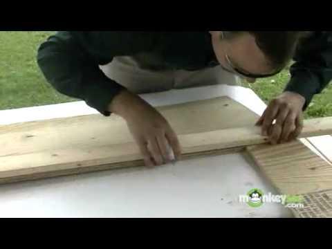 La construcción de un invernadero La construcción de muros y marco ...