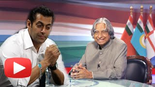 salman khan reacts on apj abdul kalam s death