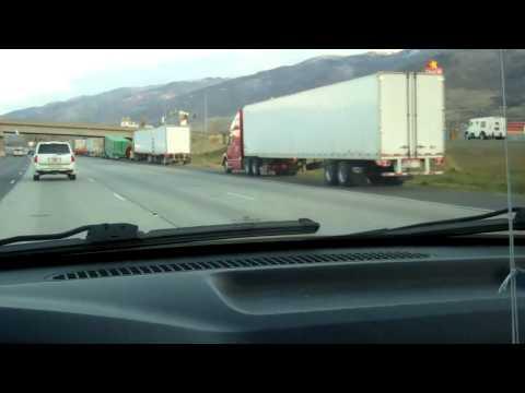 High Winds, Overturned Trucks in SLC