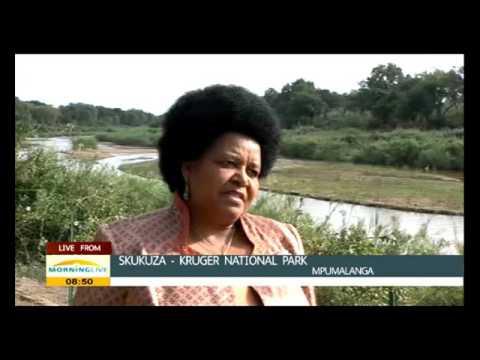 Minister Edna Molewa speaks on settlement of the Kruger Nat. Park land claim
