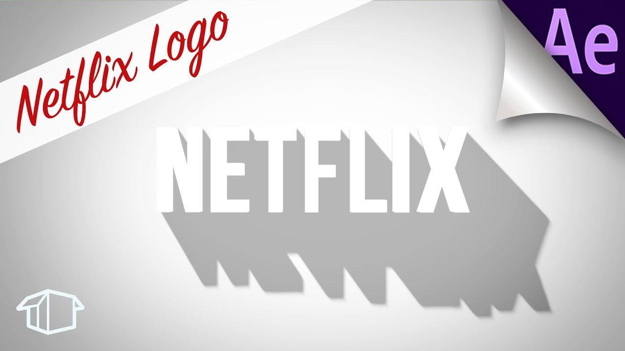 Make Netflix Logo animation visual Tutorial for Adobe After Effects ...