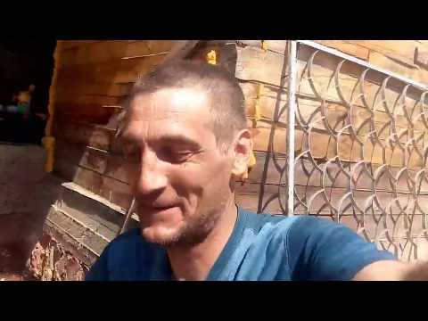 Подработка в поселке летом - строим дом Димону, первый день работы