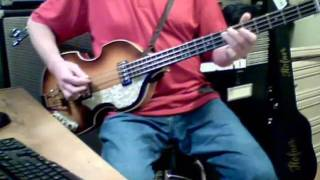 McCartney - Mrs Vandebilt Bass Cover - Hofner 62 Reissue