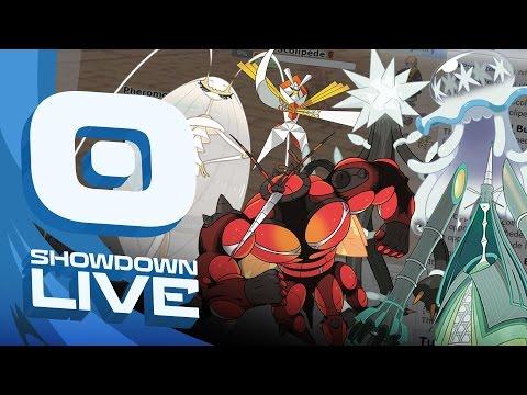 """BEASHT BOOSHT"" Pokemon Sun & Moon! OU Showdown Live w/PokeaimMD, Gator & PK! (shofu & snark at end)"
