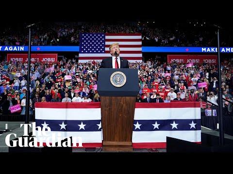 """Ridiculous Bullshit"": Donald Trump's Rambling Rally in Michigan"