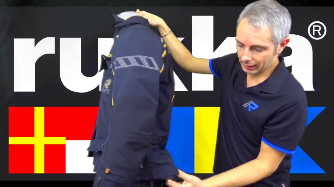 1 video videorecensione Energater Rukka Giacca italiano YouTube xwqO0pT