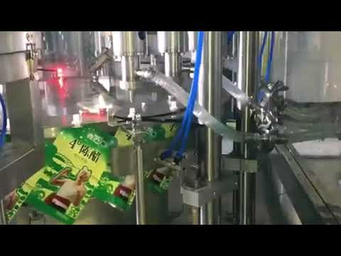 Spout Pouch Filling Machine Suppliers For Liquid Paste Cream Filler And Sealer Equipment