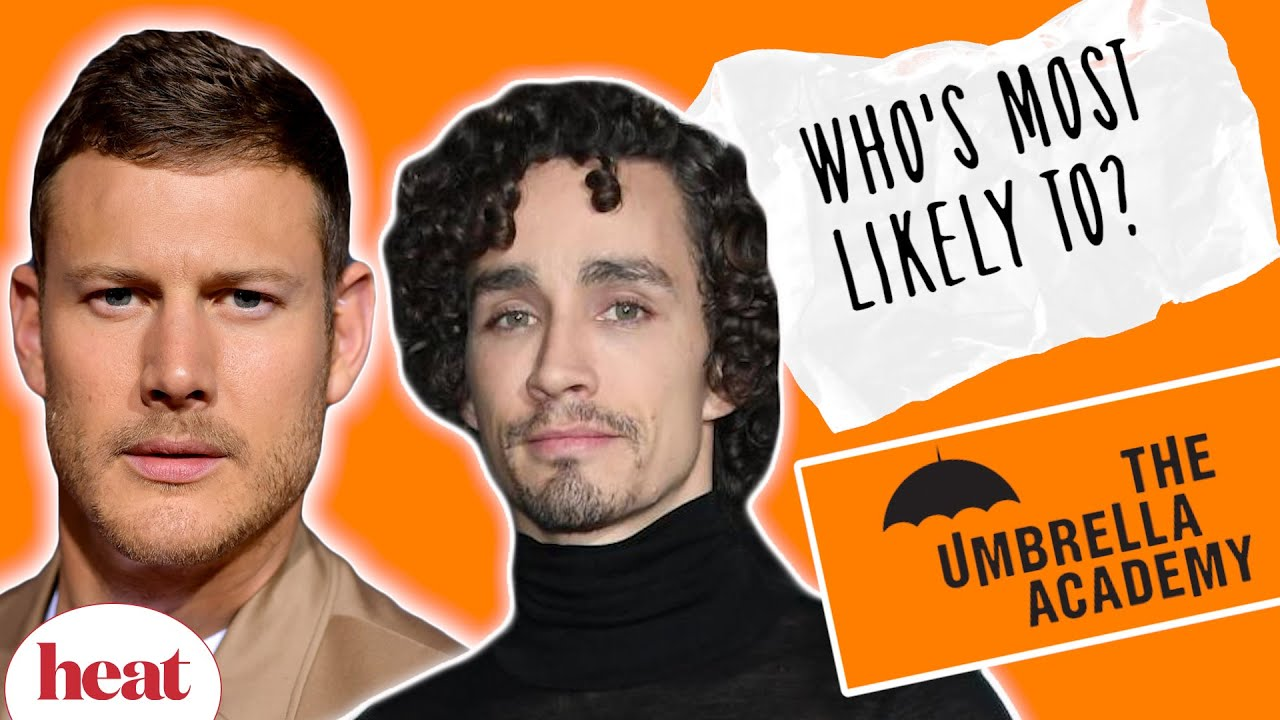 The Umbrella Academy's Robert Sheehan & Tom Hopper reveal on-set secrets | Who's Most Likely Too?
