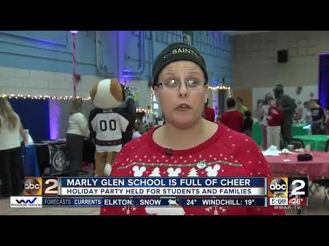 Marley Glen School holds holiday party for students and families